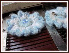 Hola Chicas,ya volviendo al ruedo les muestro éstas escarapelas tejidas a crochet,también tengo ganas de tejer a dos agujas,me encantan los ...