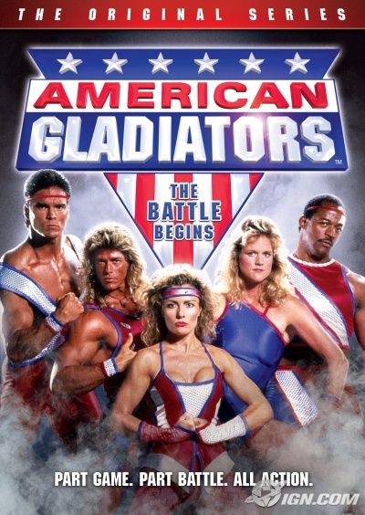 I dreamed of becoming an American Gladiator.