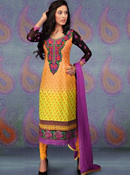 http://www.silkmuseumsurat.in/salwar_kameez/intriguing-embroidered-georgette-churidar-suit
