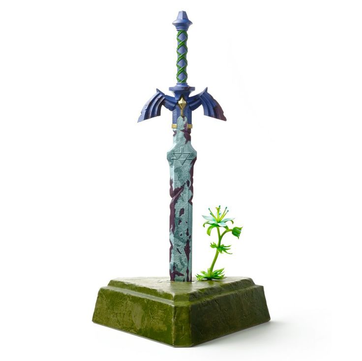 Detailed look at upcoming Master Sword statue coming to Breath of the Wild Master Edition | Nintendo Wire