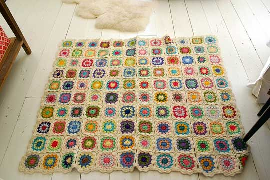 my reason for learning to crochet: Crochet Blankets, Projects, Granny Squares Blankets, Color, Granny Square Blanket, Crochet Rugs, Photo, Crafts, Knits