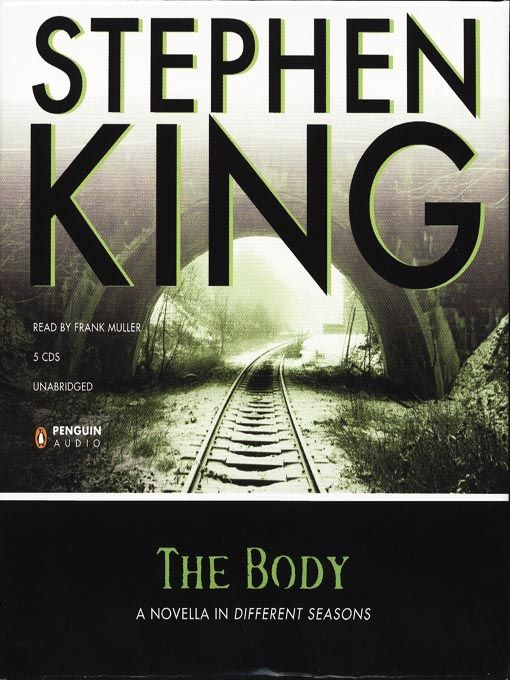"""DYK that the book """"The Body"""" / Stephen King ~ Made into the acclaimed film Stand…"""