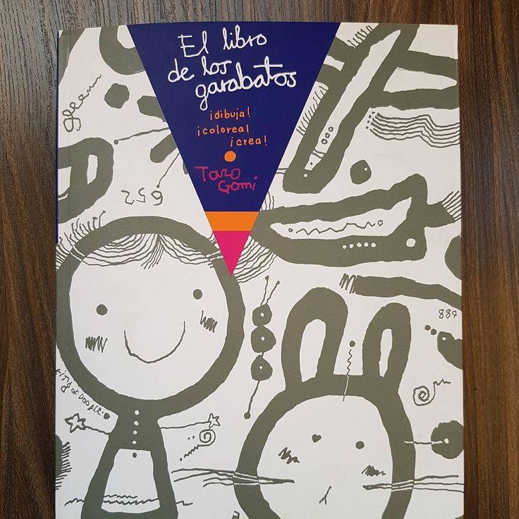 Recomendaciones de libros de actividades para niños: El libro de los garabatos / Activity books for children
