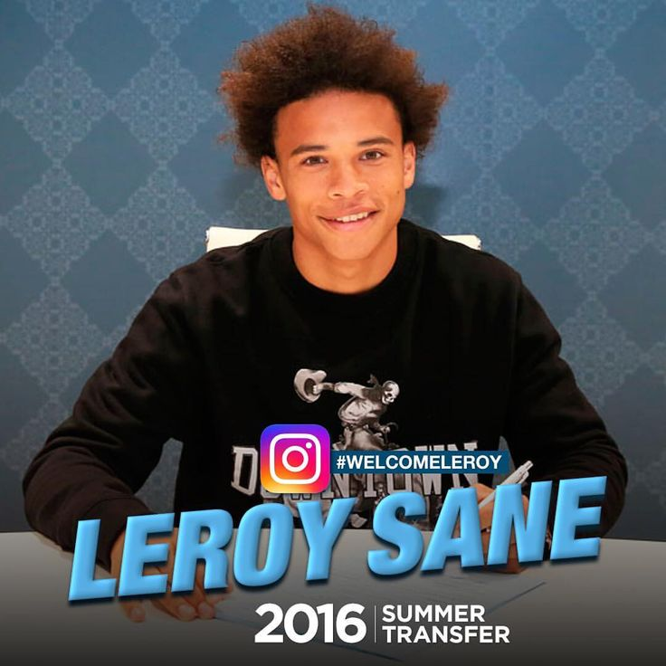 Welcome Leroy Sane #mancity #manchestercityfc