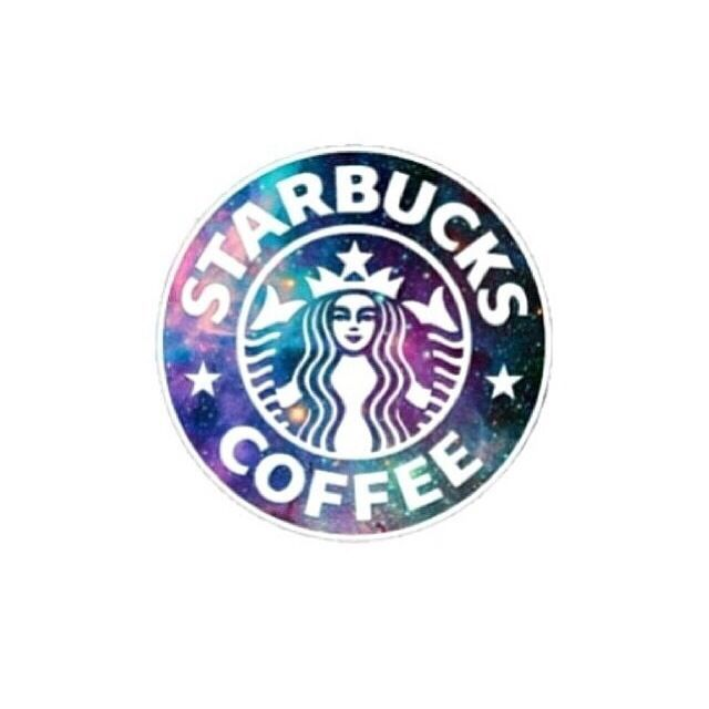 Galaxy starbucks ~ tumblr transparents and layovers                                                                                                                                                                                 Mais