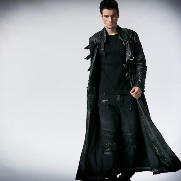 Item Type: Outerwear & CoatsOuterwear Type: JacketsGender: MenCuff Style: ConventionalClothing Length: RegularClosure Type: Single BreastedBrand Name: punk
