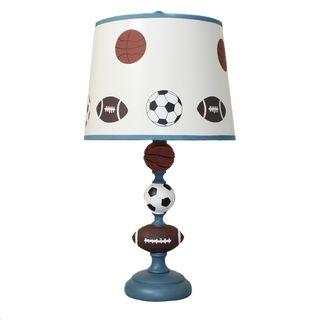 Captivating EcWorld Enterprises 7799759 Urban Designs 23 In. All American Sports Kids  Table Lamp, As Shown