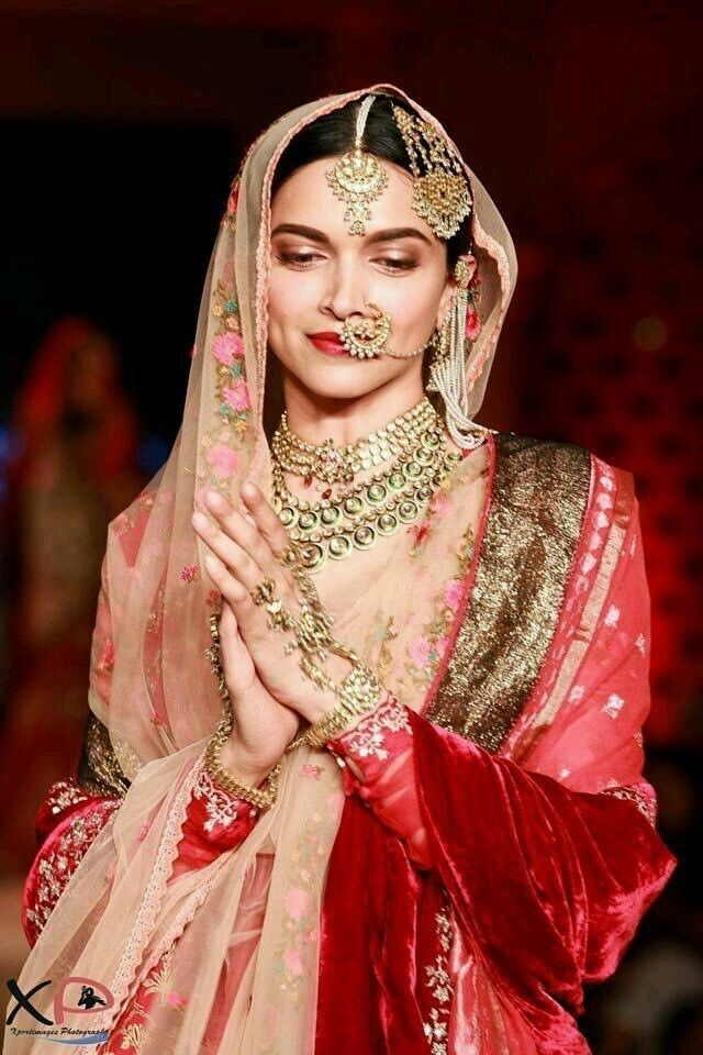 Deepika Padukone Indian Bridal Wear Indian Bridal Outfits Indian Bridal