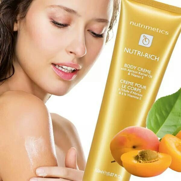 NUTRI RICH body cream. So soft and silky smooth! Love it!