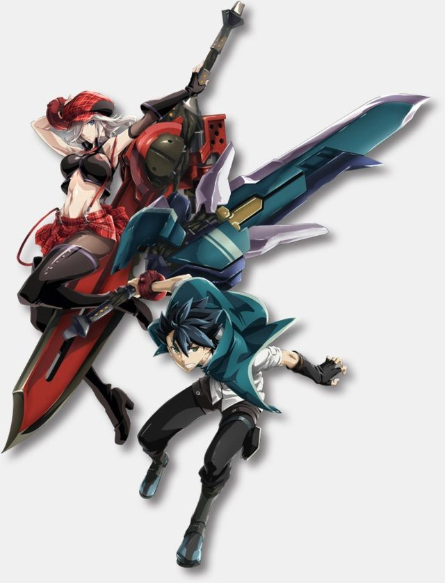 New visual for #GodEater is here!