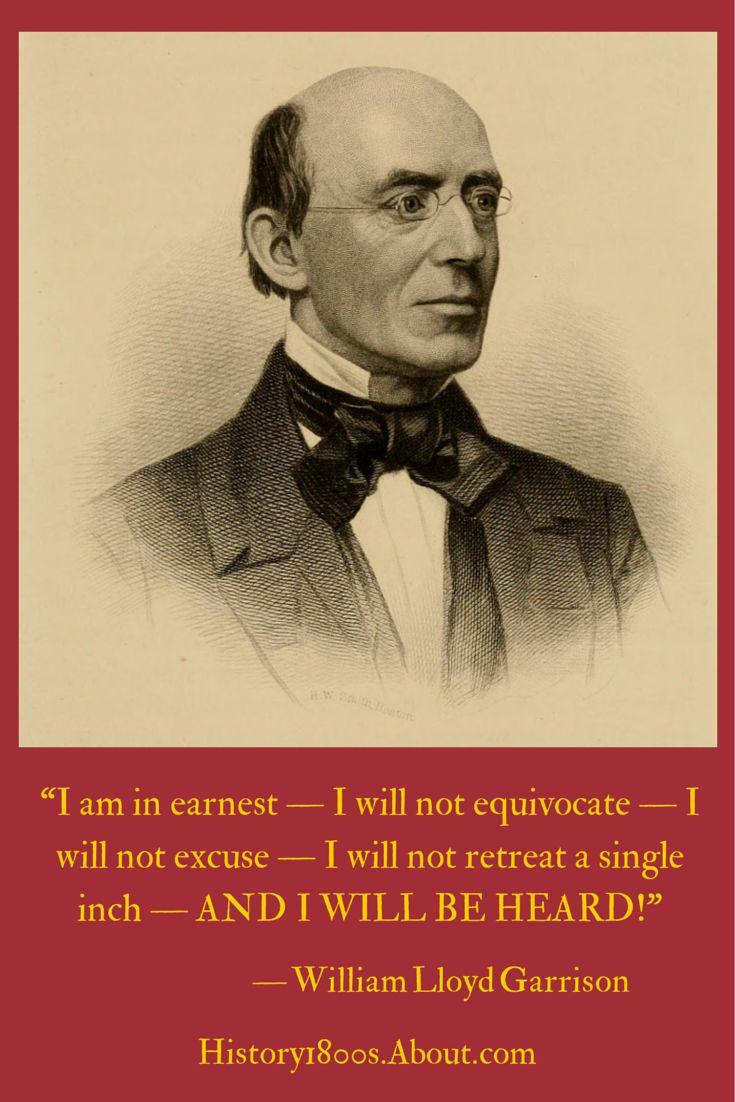william lloyd garrisson Essays and criticism on william lloyd garrison - critical essays.
