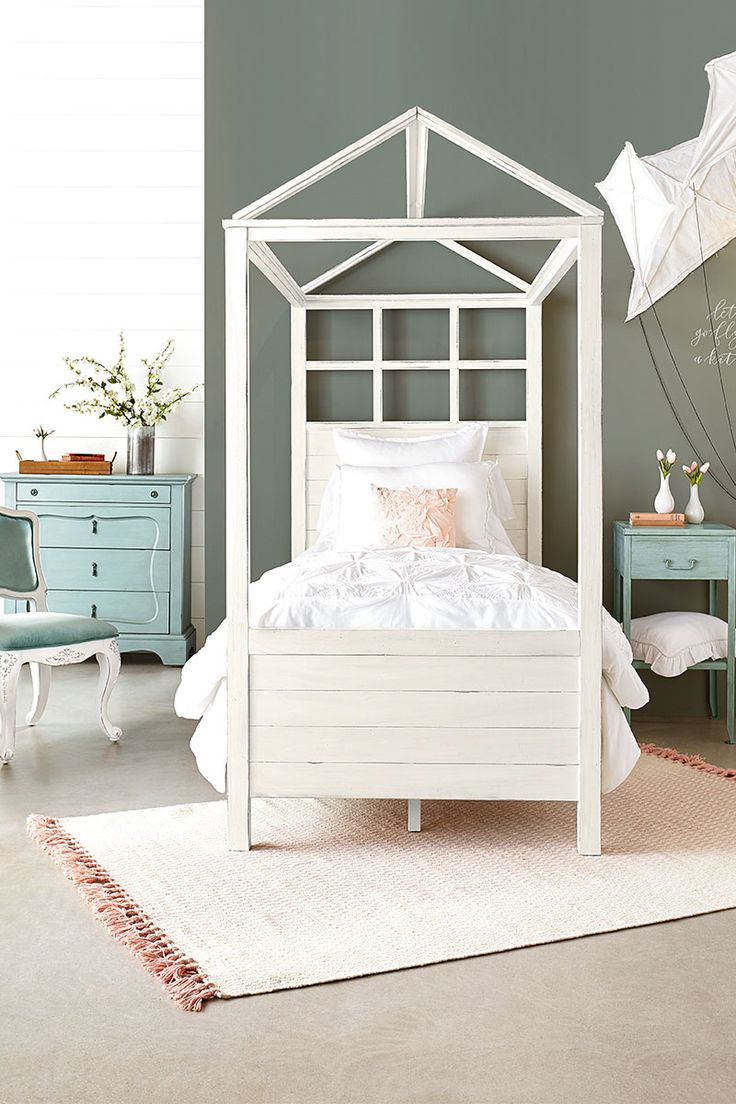MAGNOLIA FURNITURE!! Boho Playhouse Canopy Bedroom (With