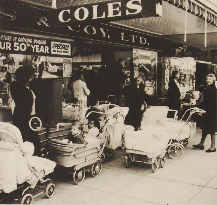 Coles' 50th anniversary in Australia, 1964