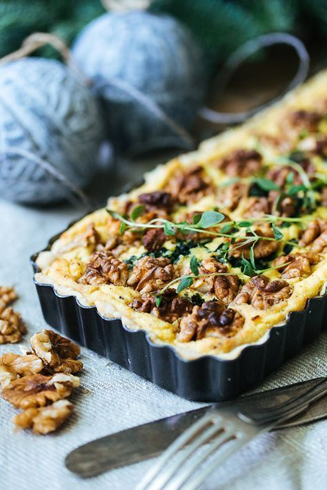 Christmas Recipes | Oatly | Vegan | Kale Pie with Walnuts | Kålpudding | iMat | Creamy Oats | #christmasrecipes