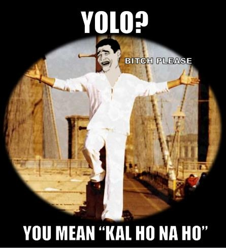 HAHAHAHA...that's the motto❤ #Bollywood
