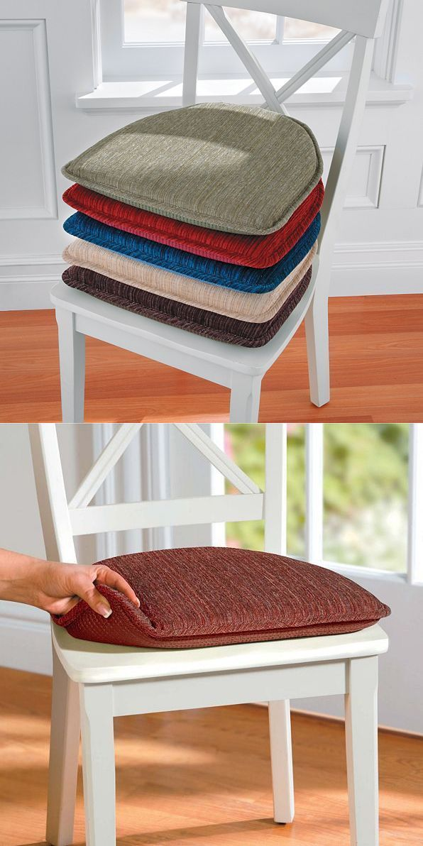Patio Furniture Cushions And Pads 79683 Set Of 2 Indoor Kitchen Non