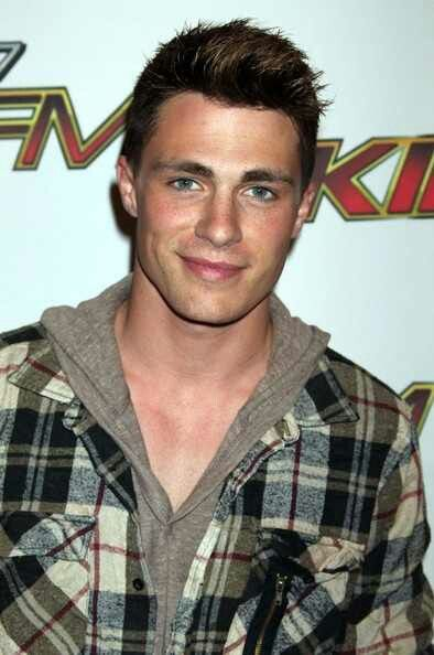 Colton Haynes (it's only a little weird that he has the same name as my brother) lol