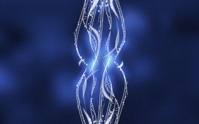 Light strands wallpaper