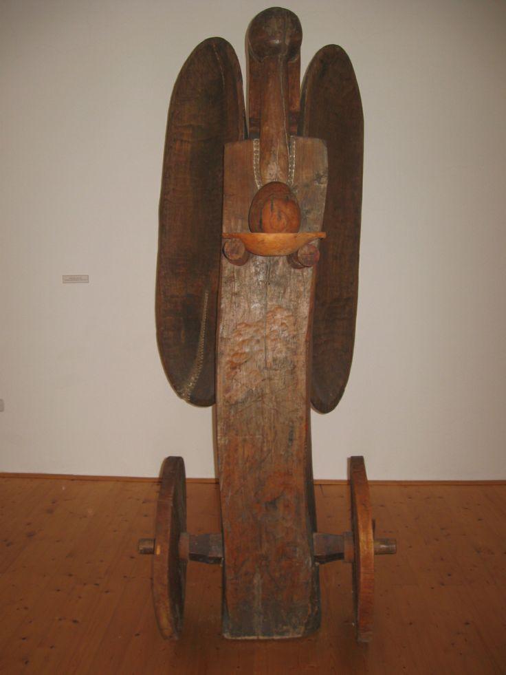 Geza Samu - Wheeled Angel, 1972-1973