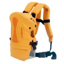 Ecosusi Back and Front Baby Carrier (Yellow)