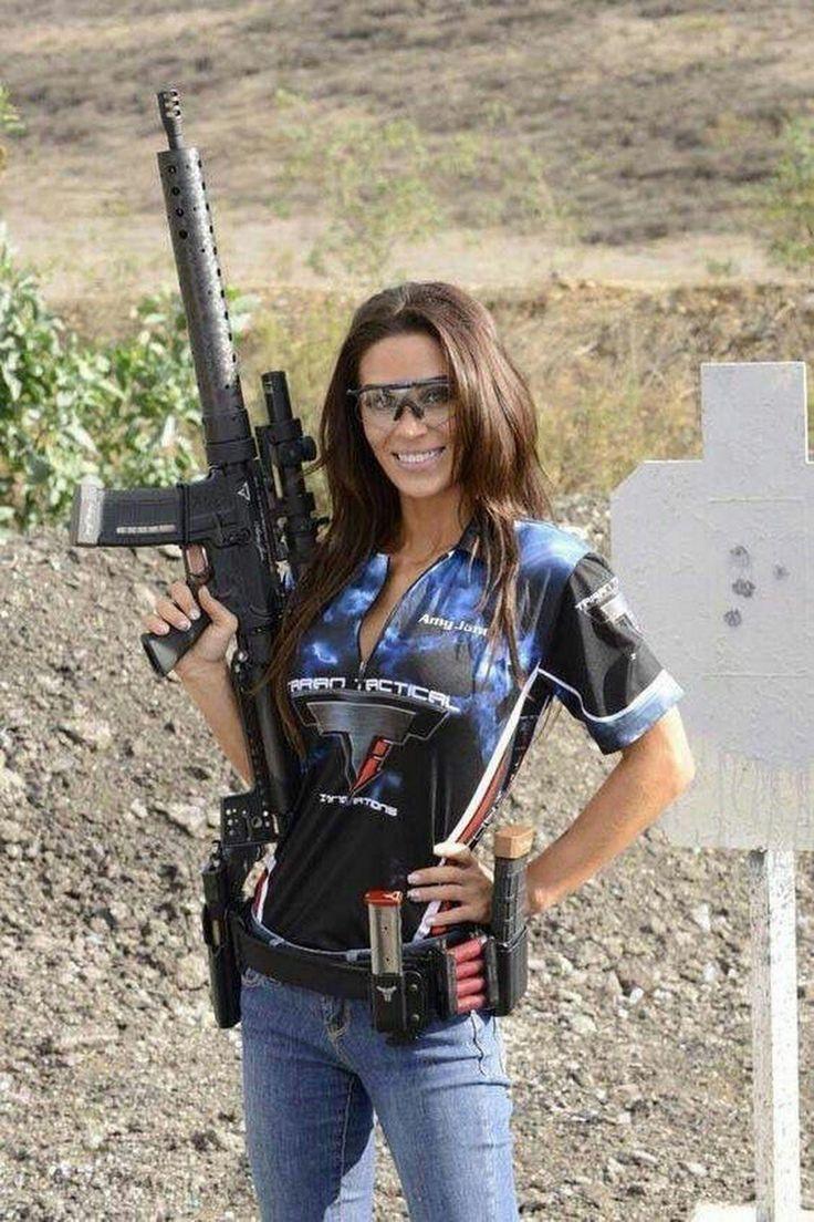 Patriotic Women | Girl guns, Military girl, Army girl
