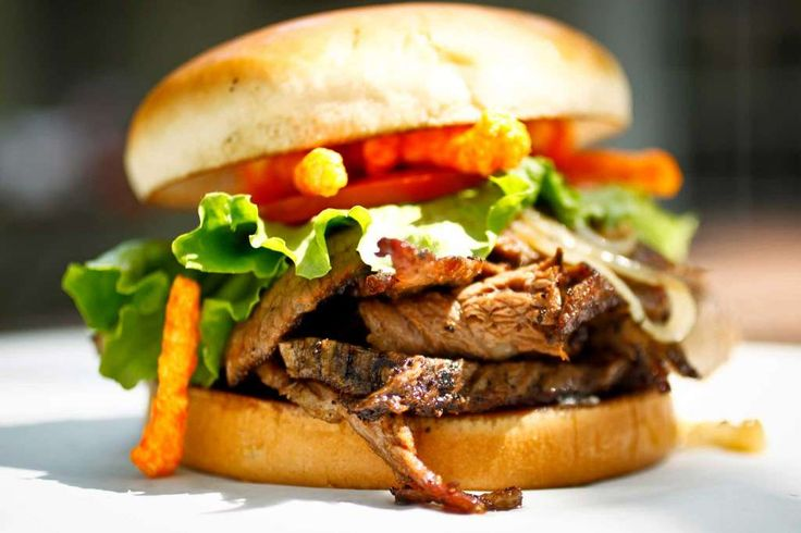 The Shack Specialty burger ex.: Billy Bob NguyenAsian infused brisket, onions…