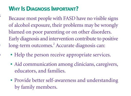 Why is diagnosis of FAS important
