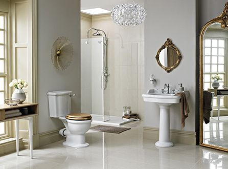 LUXURY QUALITY STYLE HOME DECOR BATHROOM SHOWER SUITE IDEAS HERITAGE