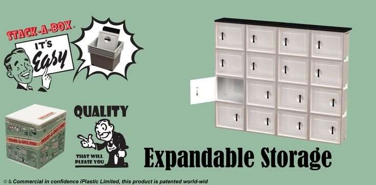 Features of the Stack-A-Box modular storage system:  - Easy – Lock Together storage system, inbuilt structure which is secure & sturdy, just simply click together, along with the table tops (no tools required!) - Front Opening With Reversible Hinged Doors -  High Quality Value For Money -  Durable, Tough & Built To Last  - Easily Extendable To Add On More Units. - No More Heavy lifting To Access Your Stored Goods - BPA free, Responsibly Made, Australian Designed & Patented World-wide