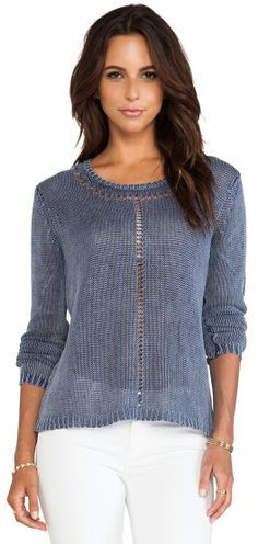 Boatneck Sweater in Escapist