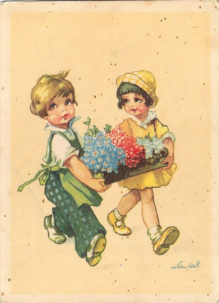 Немецкую открытку