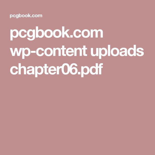 pcgbook.com wp-content uploads chapter06.pdf