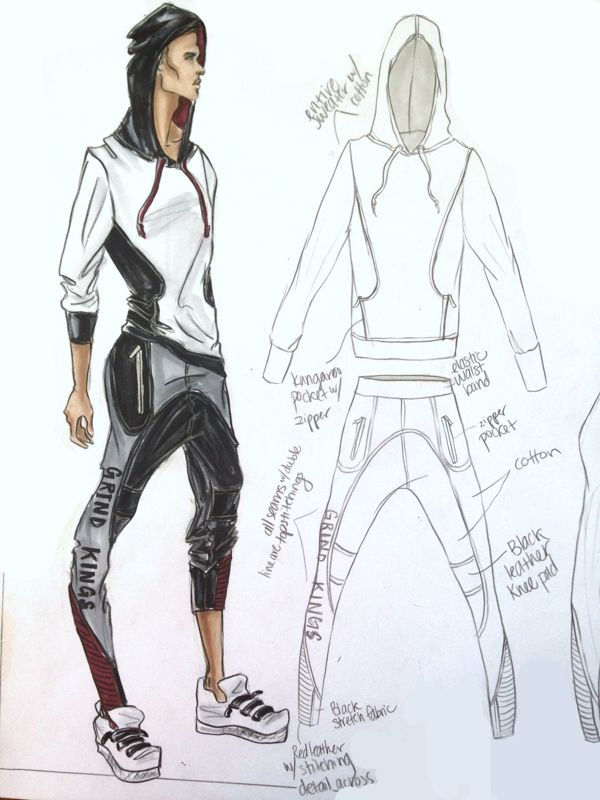 Sportswear – Designed and Illustrated by Kristina Keurjikian ,  Kristina Keurjikian