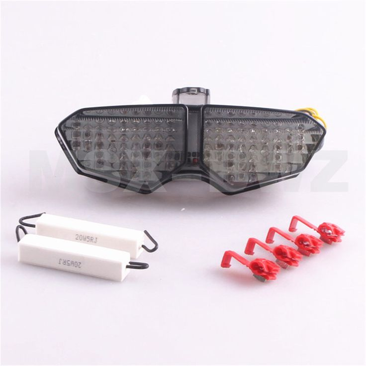 New LED Turn Signal Brake Integrated Taillight For YAMAHA R6 03 04 05 & R6S 2006 - 2009 2008 Smoke  Motorcycle Tail Light
