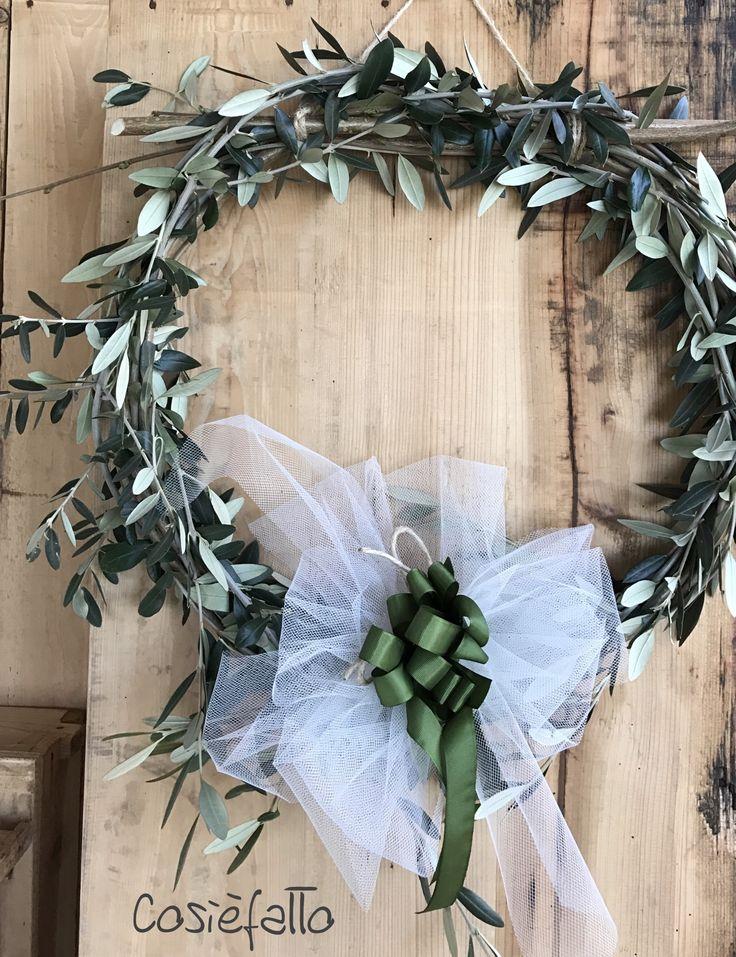 Ghirlanda pasquale d'olivo