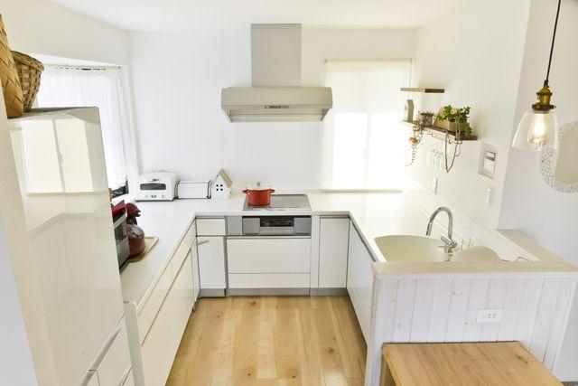 機能的なu型キッチンで 忙しい毎日の家事がぐんと効率アップ トクラス キッチン システムキッチン 家事