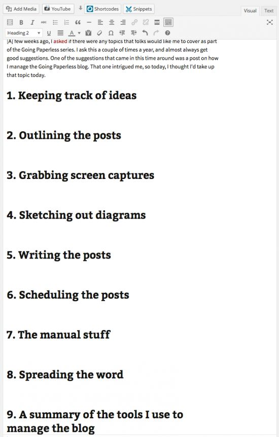 10 of My Favorite Going Paperless Posts