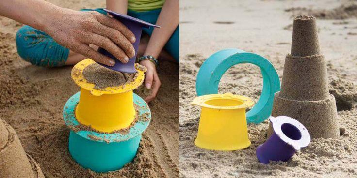 Quut Beach Toys, juguetes de playa diferentes #quut #juguetes #playa #ninos #toys #beach #beachtoys #kids #toddlers #belgium