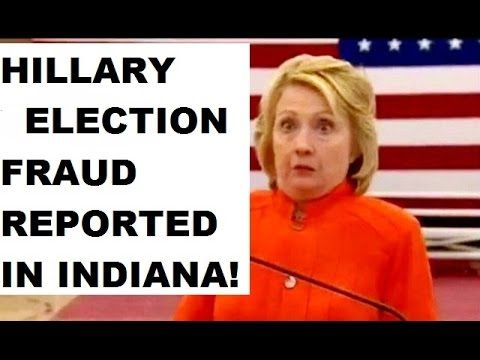 ALERT: HILLARY INDIANA ELECTION FRAUD REPORTED AND MEME COLLECTION! H3H3