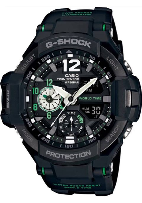 G-Shock Gravitymaster Aviation Black/Green