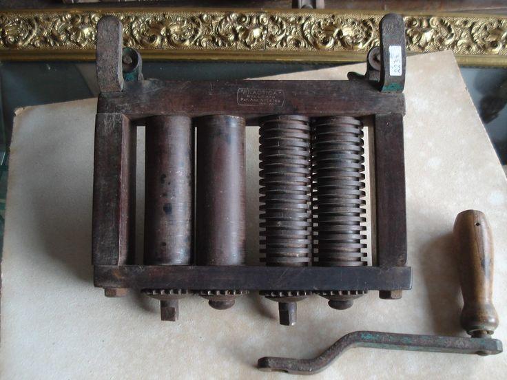 Resultado de imagen para maquina para hacer fideos antigua pastalinda