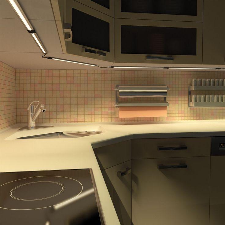 die besten 25 led unterbauleuchte ideen auf pinterest h ngeschrank k che mit liftt r led. Black Bedroom Furniture Sets. Home Design Ideas