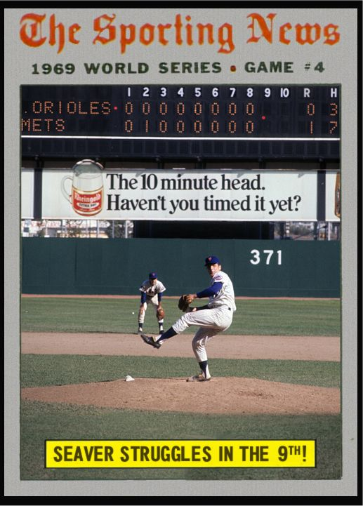 For game 4 of the 1969 World Series the Mets had the Baltimore Orioles right where they wanted them. They were up 2 games to 1, playing ...