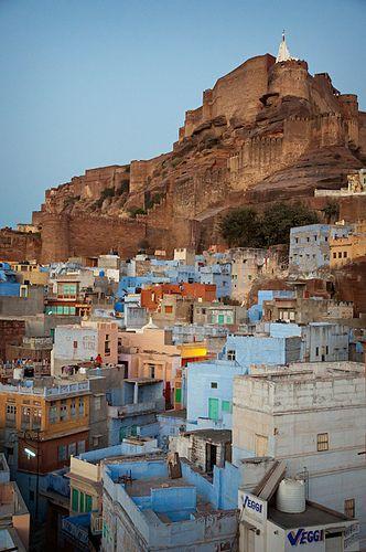 Jodhpur, Rajasthan, India. colours. palace. maharaja. history.legends. awesomness. heat