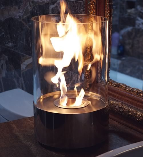 Nu Flame Accenda Portable Fireplace From Bluworld HOMelements On OpenSky