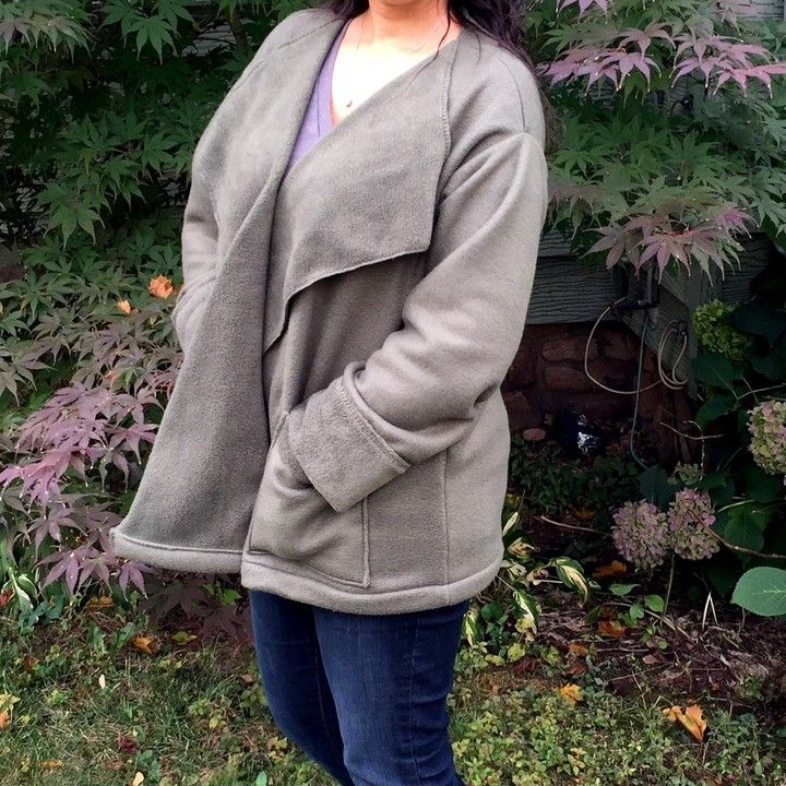 Heather Green Fleece Jacket from May Christie's LLC for $30.00