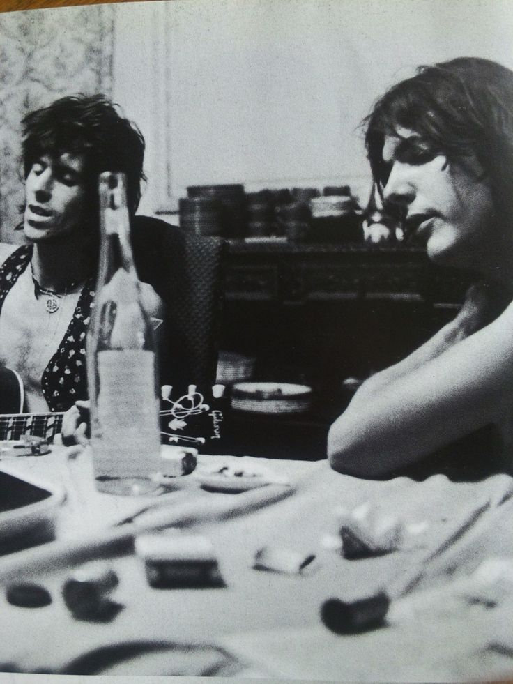 Keith and Gram Parsons
