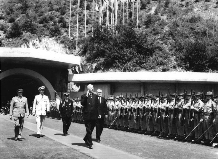 Un traguardo di mezzo secolo per il #traforo del Monte Bianco: ecco le parole del presidente Sergio Mattarella