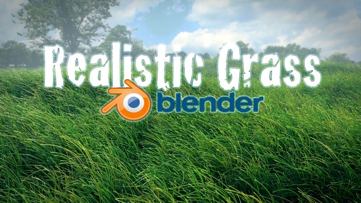 Beginner Blender Tutorial - Realistic Animated Grass Cycles!