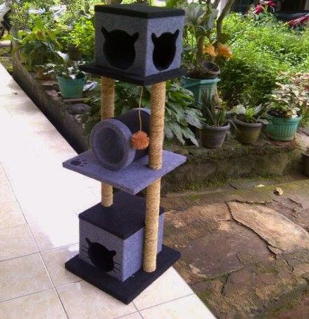 Cat scratching/cat condo/garukan kucing/mainan kucing/cat tree/cat toy. Kode JC 21 ukuran tinggi: 125 cm lebar: 40x45cm Harga Rp.1.750.000 Kami menerima pemesanan CUSTOM ( mengikuti design keinginan anda atau dari design kami ) Hubungi kami : JL: Aselih Rt:10 Rw:01 Cipedak-Ciganjur Jagakarsa Jakarta-Selatan 12630 No:72 Telp: 087882372643 (Whatsapp)-02194653190 PIN BB 24E4F059, Line: shine_art3